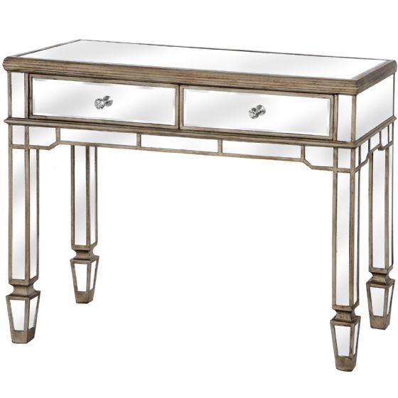 Carlyon Mirrored Console Table - Special Order
